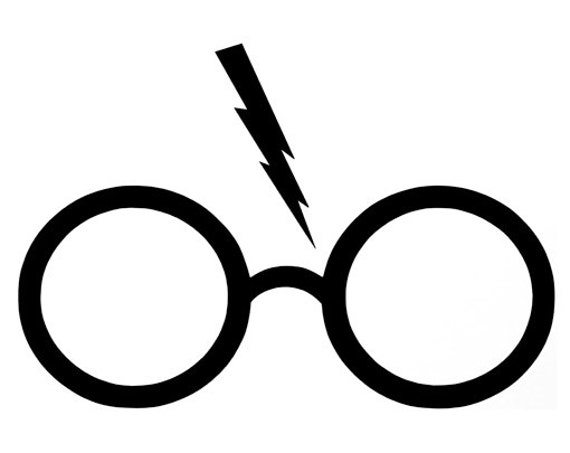 Vibrant image with regard to harry potter glasses printable
