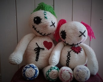 Crochet Voodoo Doll