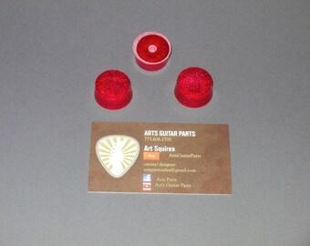 Casino Red custom knobs for fender