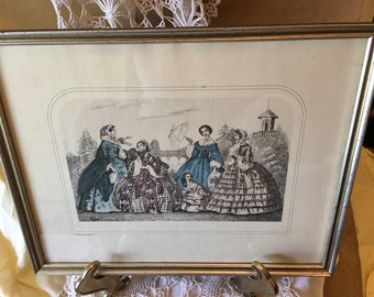 Gorgeous Vintage French Print!!!