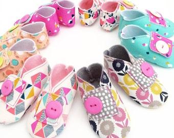 Dashwood Fabric Baby Shoes