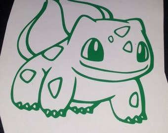 Bulbasaur Vinyl Decal
