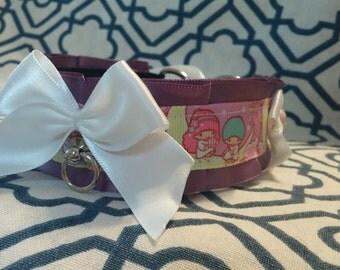 Purple little twin stars collar