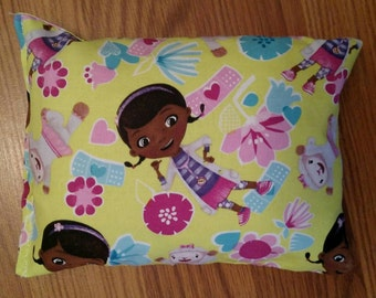Boo Boo Bag- Corn Bag- Heating Pad Ice Pack- Doc McStuffins- 6x8