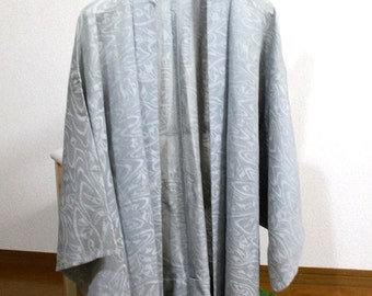 Gray, summer haori, summer business