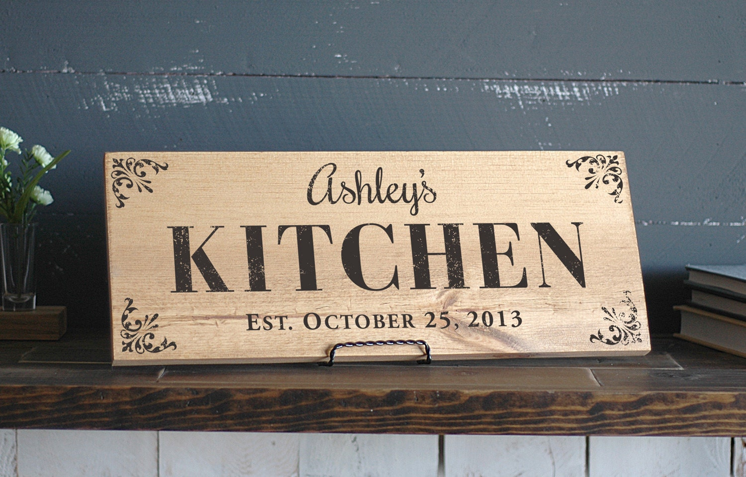 Kitchen Signs Personalized Kitchen Sign Wood Kitchen Signs