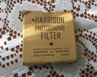 Harrison Photographic Filter Hollywood California Yellow