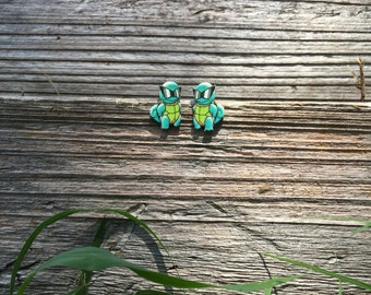 Squirtle Squad Earrings
