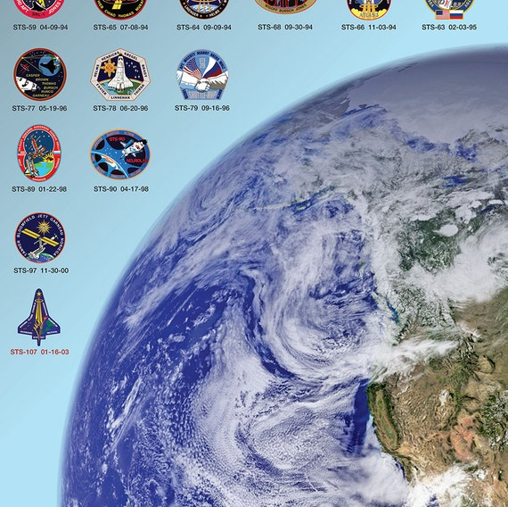 nasa patches poster - photo #18