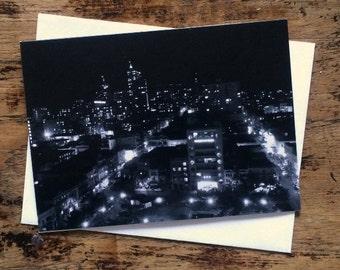 San Francisco 3 note card
