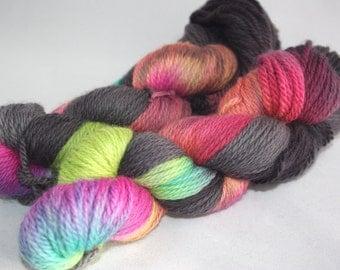 Aran Organic Yarn - Rainbow Cloud