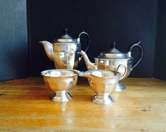 Silver plate coffee & Tea set