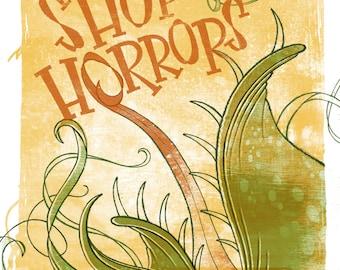 Little Shop of Horrors Poster Design