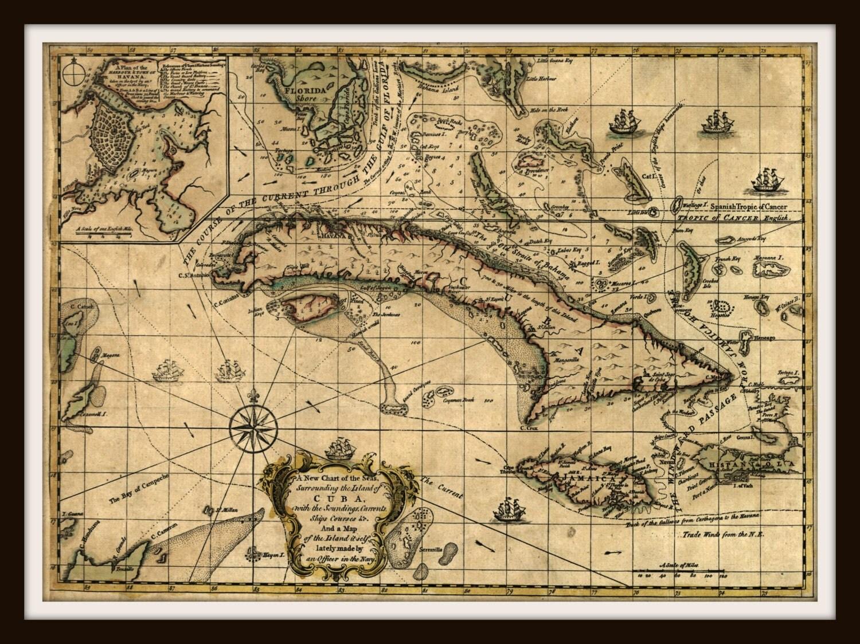 Старинные карты.