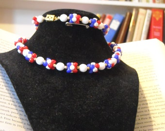 Red, White, and Blue strand