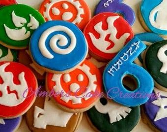 Skylanders cookies (12 cookies)