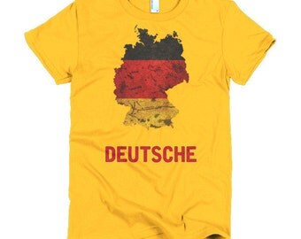 "The German Flag ""Deutsche"" T-Shirt (women)"