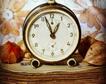 Vintage kienzle alarm clock 1950