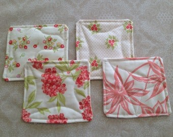 Quilted Coasters - Set of 4