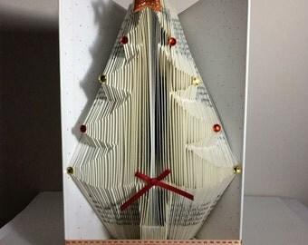 Christmas Tree Book Folding Pattern 178 Folds