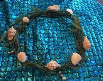 Mermaid seaweed crown
