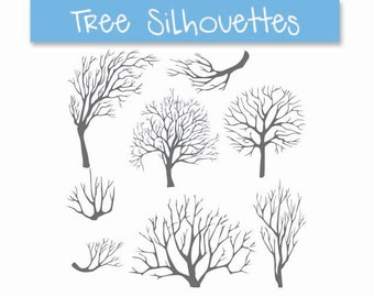 tree silhouettes, tree silhouette clip art, tree clip art, clip art tree, bare tree clip art, fall tree clipart, trees clipart