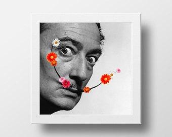 art + flowers