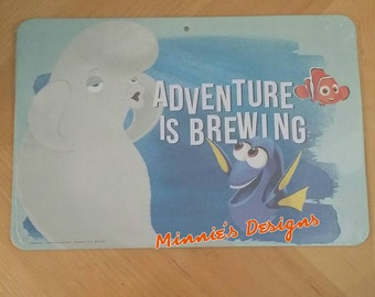 Finding Dory Birthday,Finding Dory wall sign,Finding Dory banner, Finding dory invite, Finding Dory shirt, Finding dory door sign,Dory party