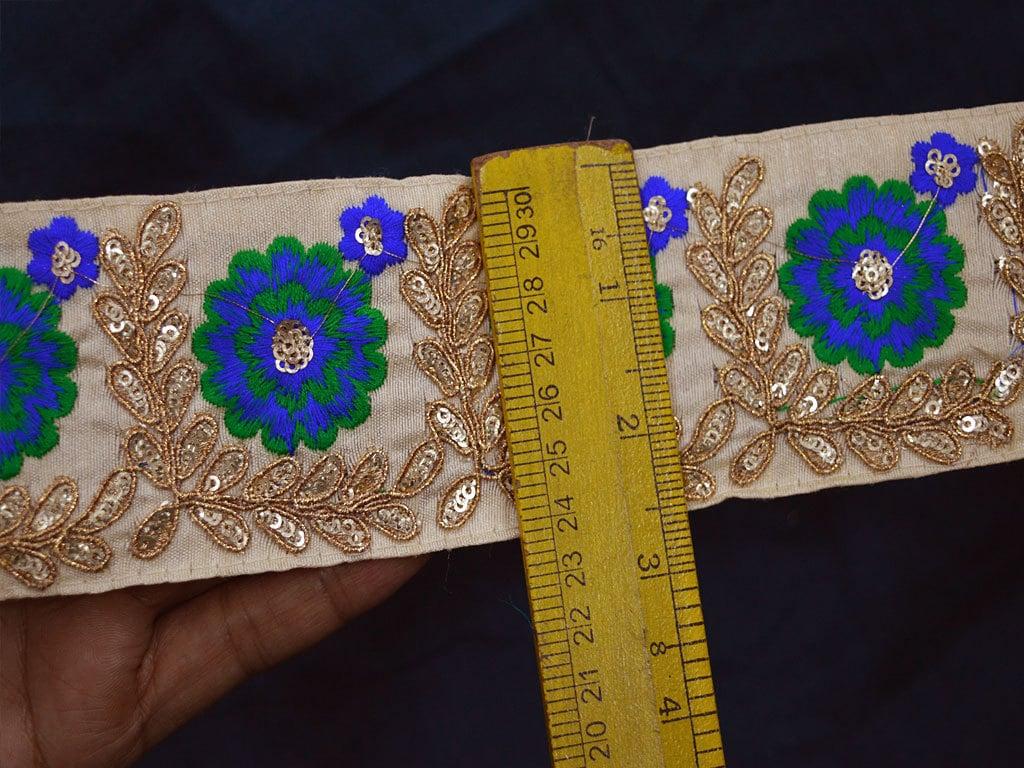 Crafting Trim By 2 Yard Decorative Trim Indian Sari Border ...