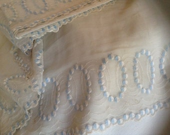 Antique Embroidered Trim