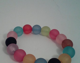 Bracelet with mix color beads