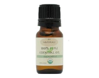 Organic Eucalyptus Essential oil 10ml  Allergy Relief