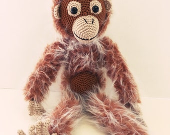 Amigurumi Monkey *Made to order*