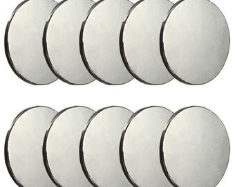 10pcs BIG 30mm x 3mm Disc Rare Earth Neodymium Super strong Magnets N35 --------------------------US Seller Fast USPS Shipping