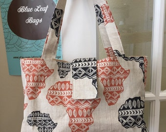 African Continent Handbag
