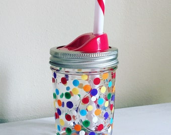 Half Pint Tumbler with Lid and Straw
