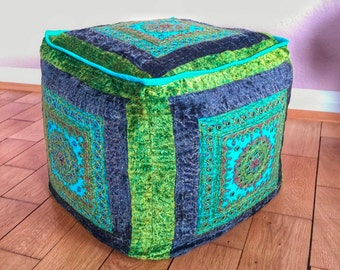 Pouf Morocco cushion Pouffe floor cushion seat stool Oriental patchwork