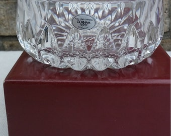 gorham Althea lead Crystal Bowl