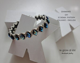 "DIY schema bracciale "" Diamante"""