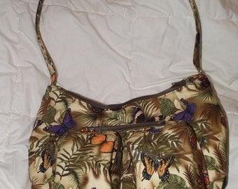 MUST SEE!! Butterfly handbag/ shoulder bag/ purse/ tote 11 pockets!!!