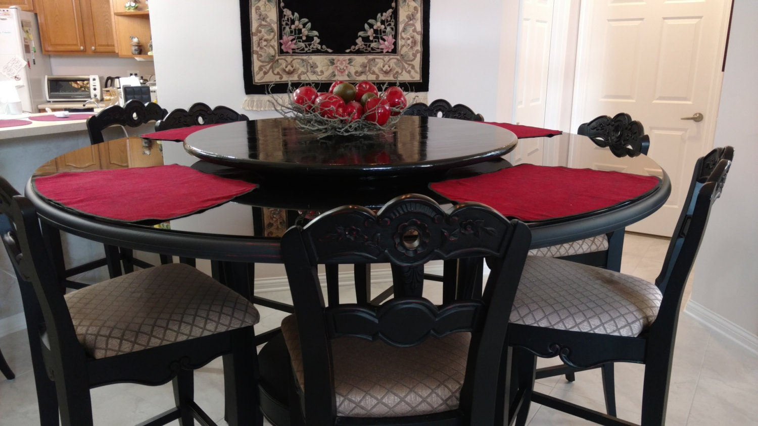 Elegant Lazy Susan For Dining Table Centerpiece