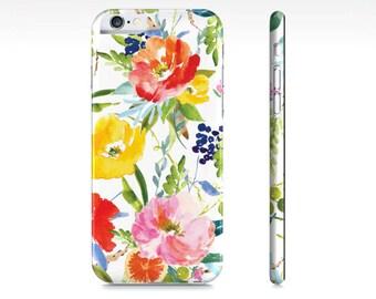 Floral iPhone Case - Floral Citrus iPhone Case - Floral iPhone 6 Case - iPhone 5 Case - Samsung Galaxy S5 Case - The Mad Case