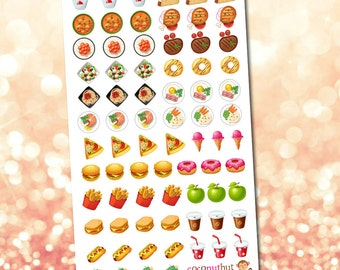 Food / Meal Planner Stickers