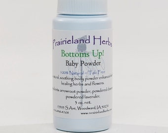 Bottoms Up! Baby Powder natural talc free fragrance free