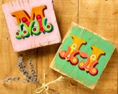 Hand painted wooden sign - Circus letters - Nursery decoration
