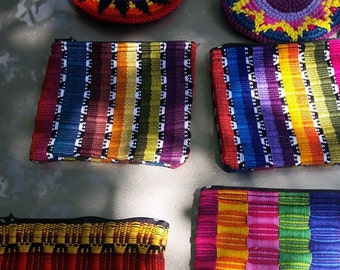 Guatemalan Hand Woven Coin Bags