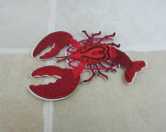 Lobster Patch Iron/Sew On