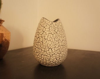 60's 70's vintage West German Jasba fat lava vase