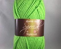 Grass Green, Stylecraft Special DK Yarn, 1821, yarn, DK Yarn, Acrylic, green yarn