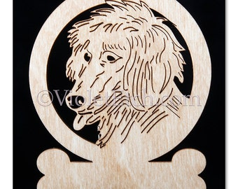 Afghan Hound Ornament-Afghan Hound Gift-Free Personalization